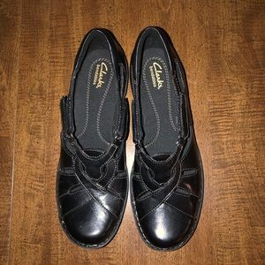 Clarks Shoes - Clark's Black Shoe